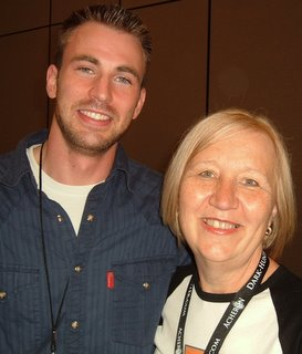 Chris Evans and Barbara Vey