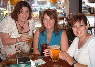 Liz Kreger and friends relaxing at RWA