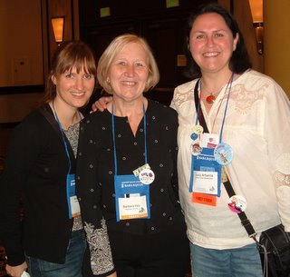 Kris Hohls, Barbara Vey and Lucy Abarcia