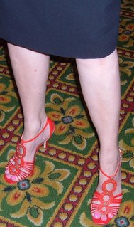 Nora Roberts shoes