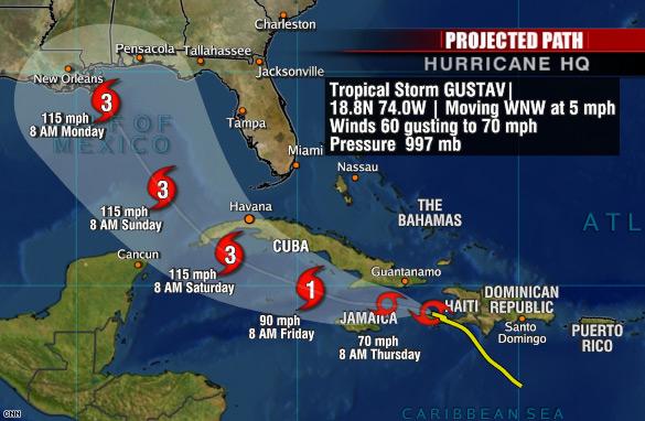 Hurrican Gustav