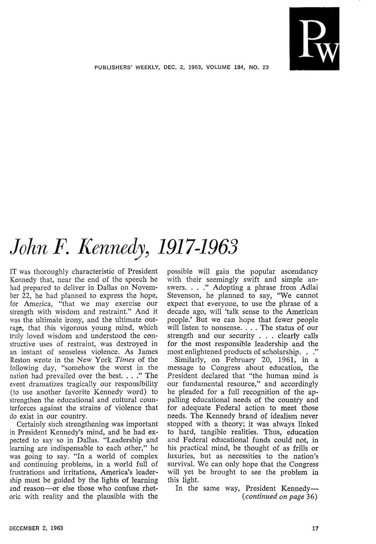 from the archives john f kennedy 1917 1963 jfk archive page 1