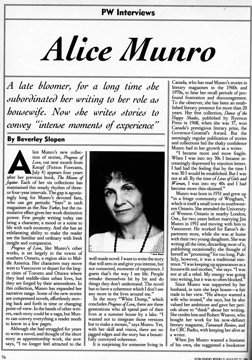 the importance of love in a real life by alice munro Alice munro, who won the nobel prize for literature today, taught me something  important and abiding and true about evil  a young, short-story-loving writer too  enamored of donald barthelme's splashy narrative.