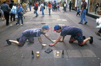 Where the Sidewalk Ends: PW Talks with Julian Beever