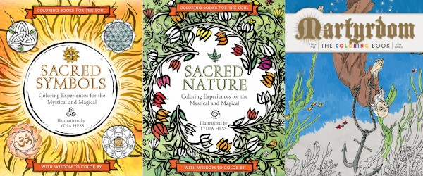 The Red Hot Adult Coloring Book Trend Reaches Religion And Spirituality