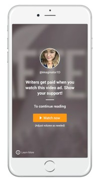 Wattpad unveils ad generated revenue program for its writers article continues below stopboris Images