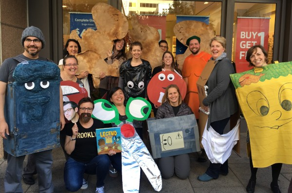 Childrens Book Publishers Across The Country Held Parties As Staffers Showed Off Costumes Inspired By Favorite Characters And Books Both Classic