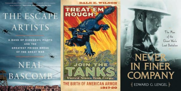 Sarajevo, the Somme, and Beyond: War & Military Books 2018