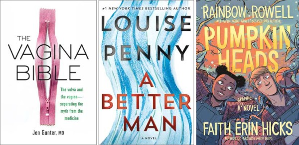 This Week's Bestsellers: September 9, 2019