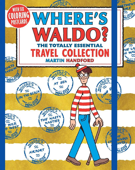 Where s Waldo  The Totally Essential Travel Collection and Where s Waldo   The Coloring Collection df5e2a3b2356c