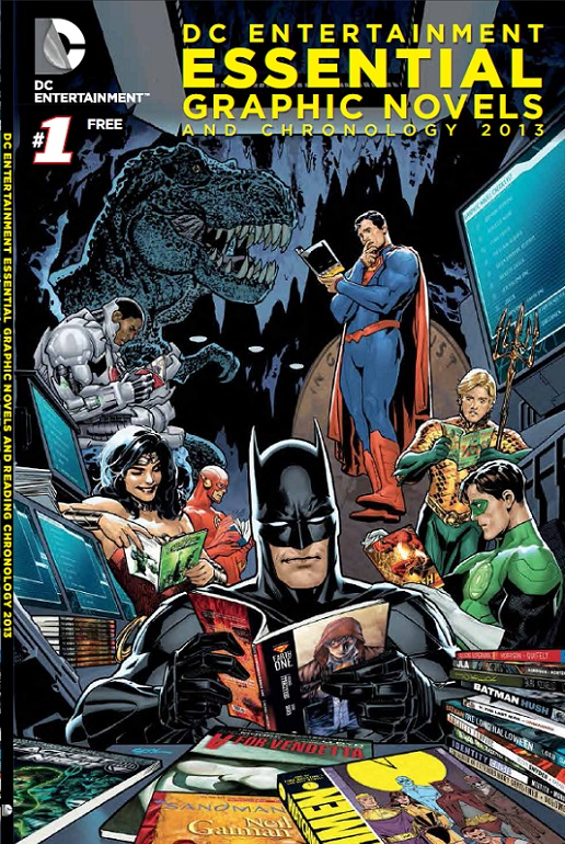 DC Publishes Guide to Its Graphic Novel Backlist