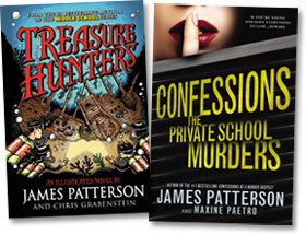 James Patterson Launches New Middle Grade Series