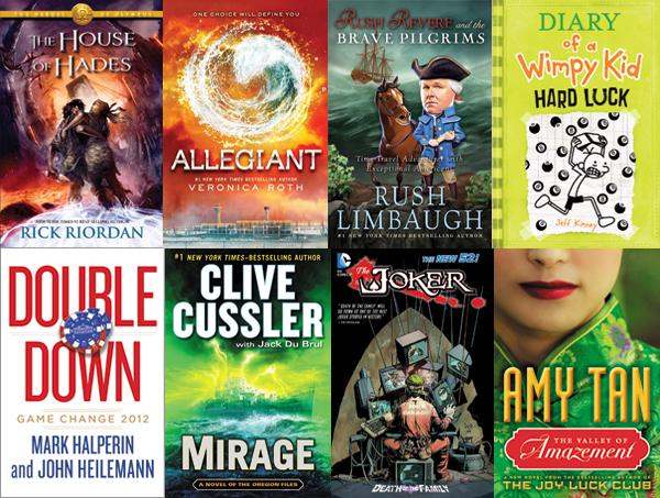 This Week S Bestsellers November 18 2013