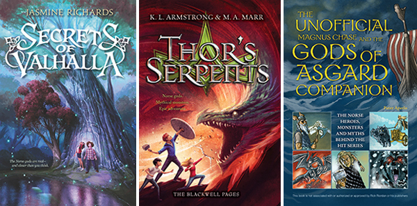 Make Way for Vikings: New Books Inspired by Norse Myths