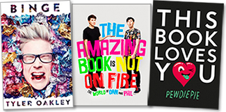 YouTube Authors Storm the Bestseller List