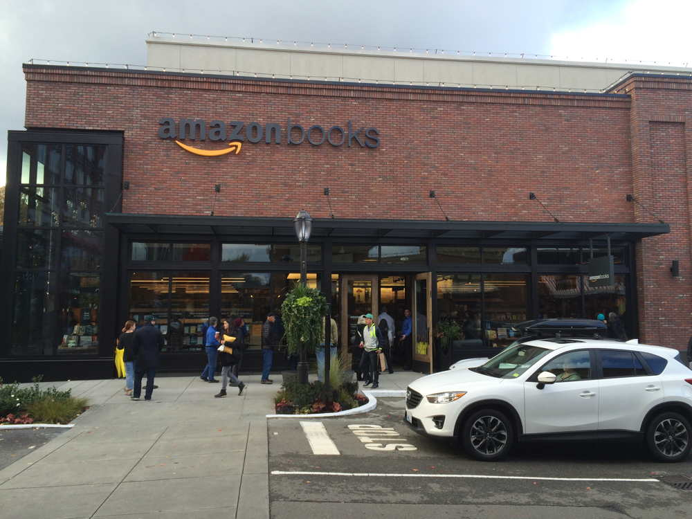 Inside Amazon's First Physical Bookstore
