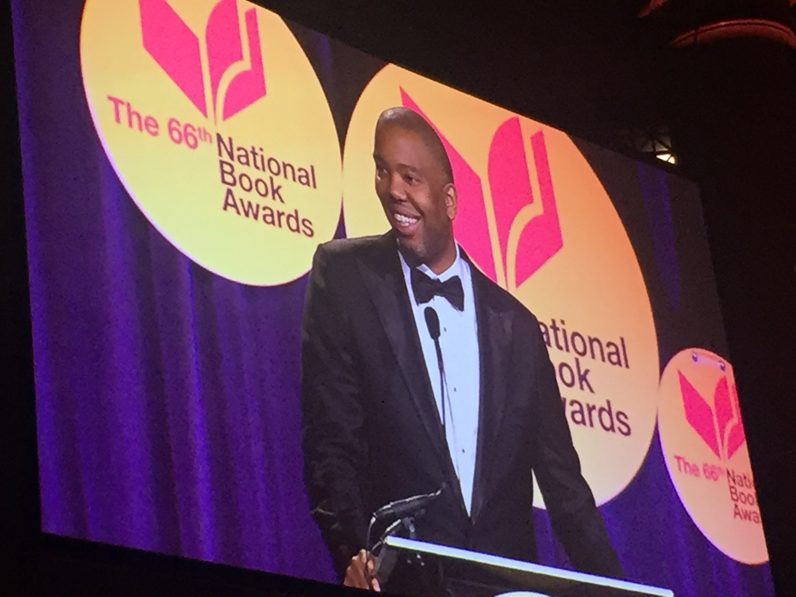 68722 2015 National Book Awards Go To Johnson Coates Lewis And Shuster...
