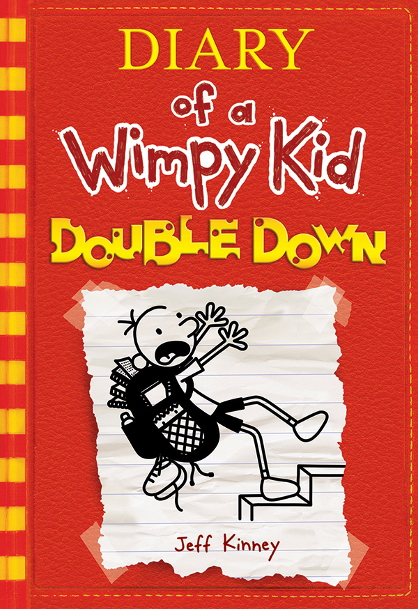 Wimpy kid book 11 cover and title revealed the intense red cover features bold yellow striping and a special cheese font that highlights the cheese touch a popular element from the books solutioingenieria Images