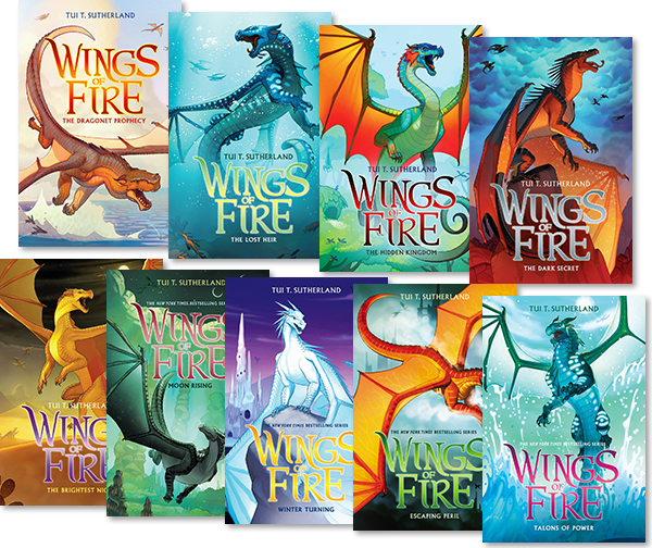 Image result for wings of fire book series