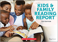 New Scholastic Report Highlights Diversity, Choice, and Reading Aloud