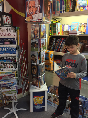 Guy Fruge Age Eight Peruses The Kids Nonfiction Section At Square Books Jr In Oxford Miss As Childrens Publishers