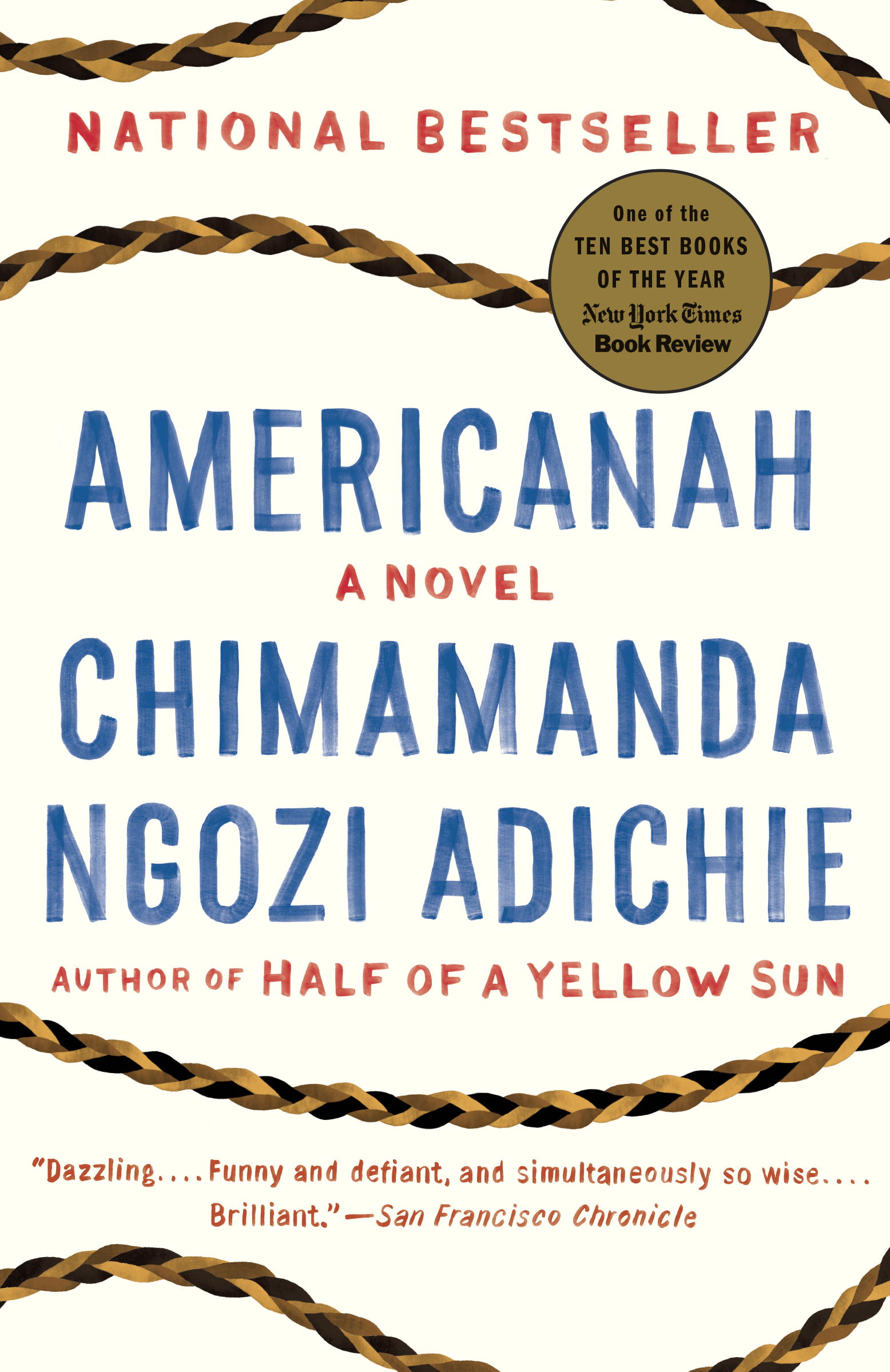 americanah wins inaugural one book one new york reading program