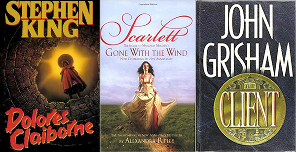 Publishers Weekly Annual Adult Bestsellers 1990 2013