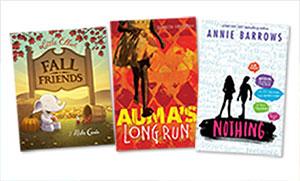 New Kids' and YA Books: Week of August 28, 2017