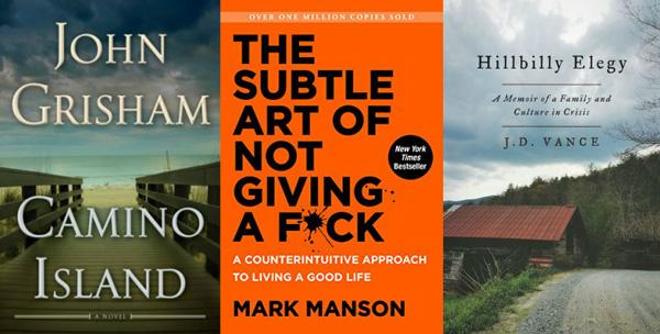 The Bestsellers of 2017