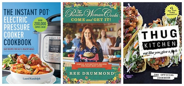 The bestselling cookbooks of 2017 ree drummonds come and get it was last years top selling cookbook moving nearly 480000 copies since since hitting shelves in october according to forumfinder Choice Image