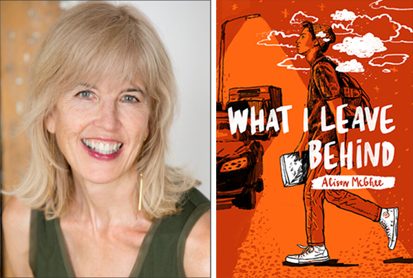 Alison McGhee Is A Prolific Author Of Picture Books And Novels For Children Young Adults In Her New YA Novel What I Leave Behind