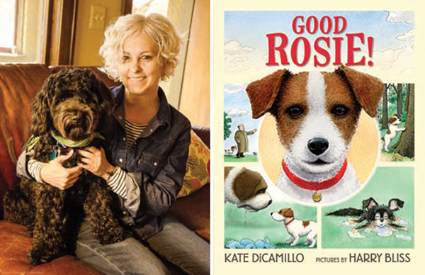 bookexpo 2018 kate dicamillo and harry bliss it s a dog s world