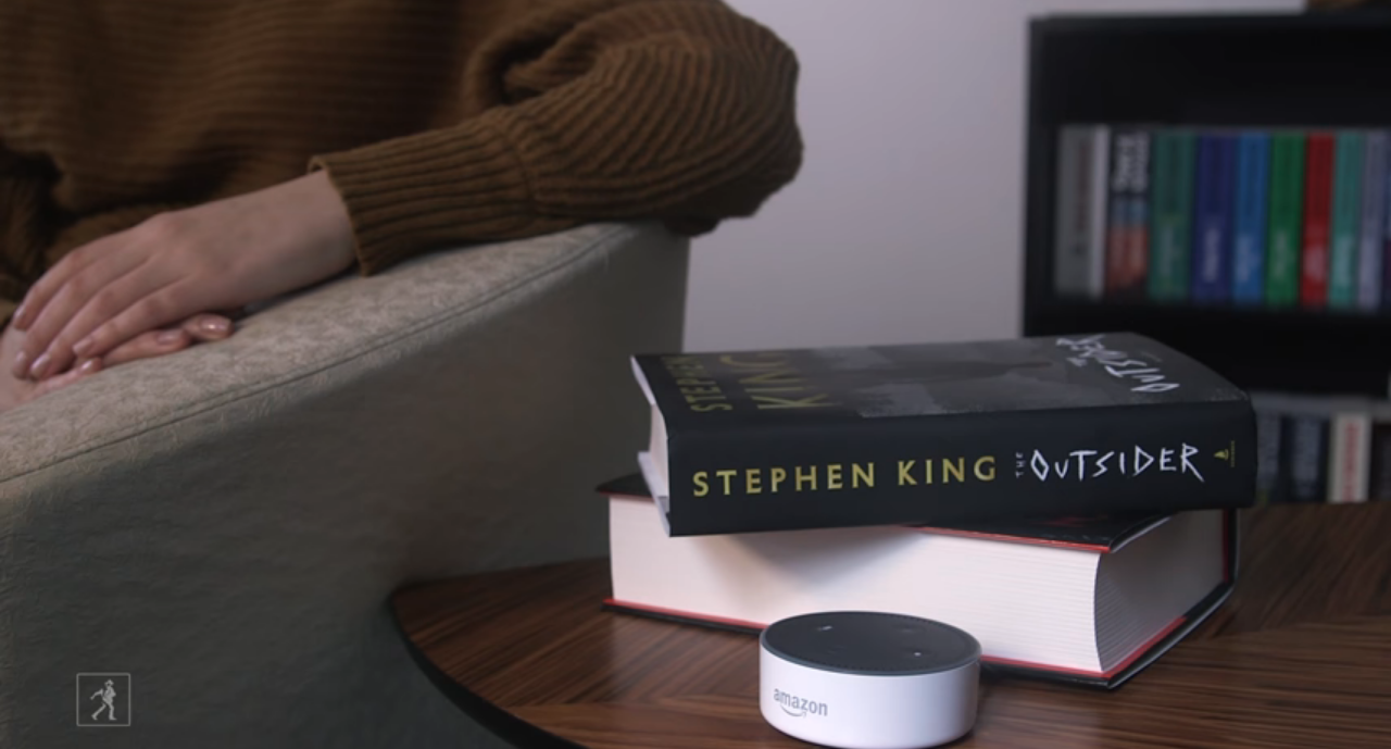 Stephen King Library Debuts for Smart Speakers