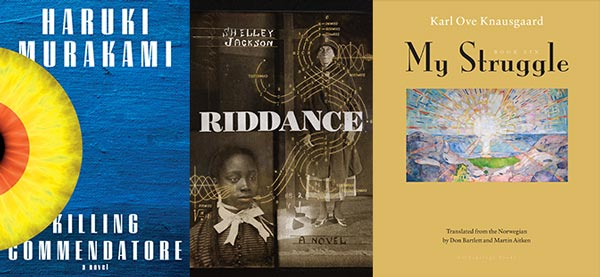 Fall 2018 Announcements Literary Fiction