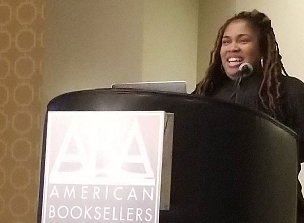 Childrens Institute 2018 Angie Thomas Urges Booksellers To Change The World