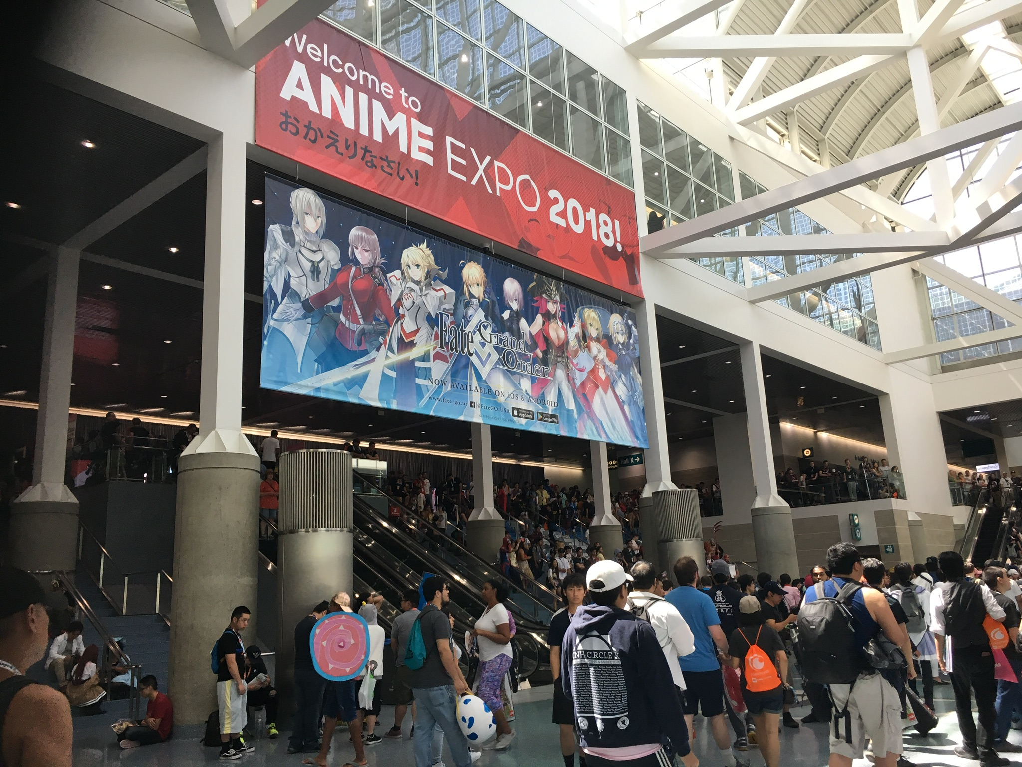 Hotter Than Ever Anime Expo 2018 Attracts Big Crowds