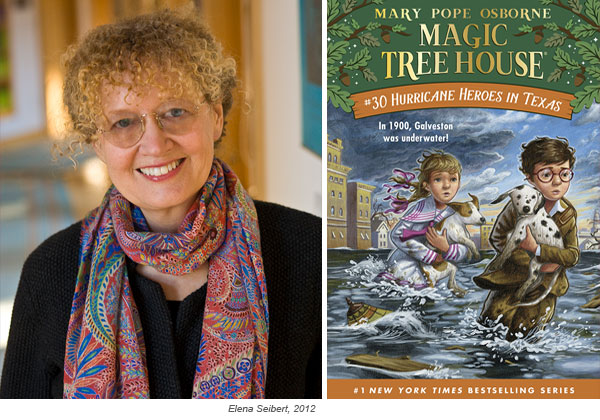 Four Questions for Mary Pope Osborne