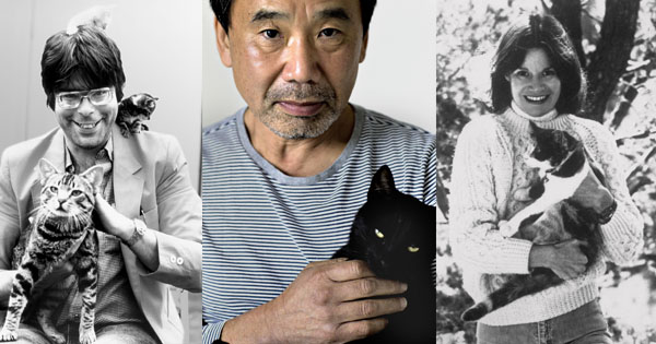 10 Famous Authors and Their Cats