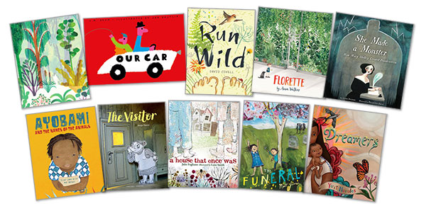 NYTBR NYPL Announce Best Illustrated Childrens Books Of 2018