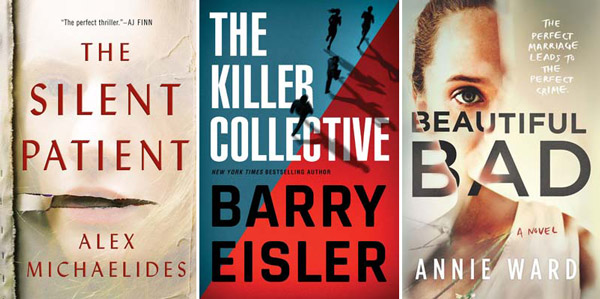 best selling thrillers 2019 Spring 2019 Announcements: Mysteries & Thrillers