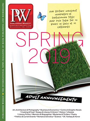 Adult Books for Spring 2019