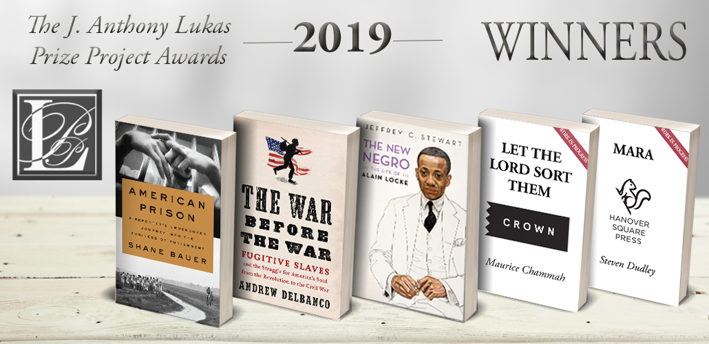 2019 J. Anthony Lukas Prize Project Award Winners Announced