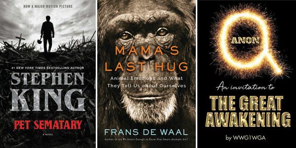 This Week's Bestsellers: March 25, 2019