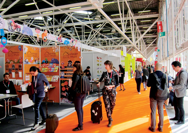 Attendance Up, Middle Grade Hot at Bologna 2019