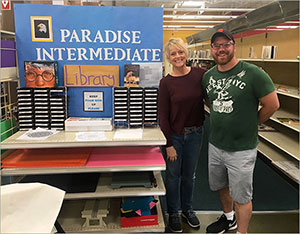 Donations Help Rebuild Libraries in Paradise, Calif.