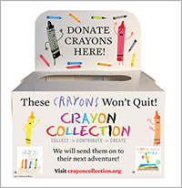Penguin Partners with the Crayon Collection on Recycling Program