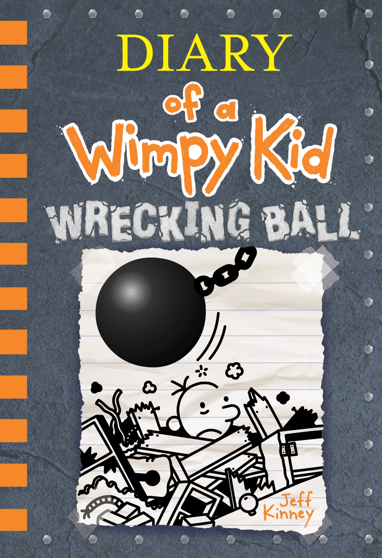 Wimpy Kid 14 Title and Cover Revealed