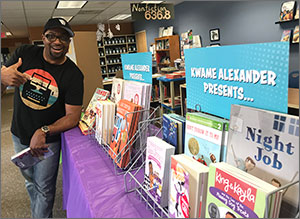 On Tour with Kwame Alexander