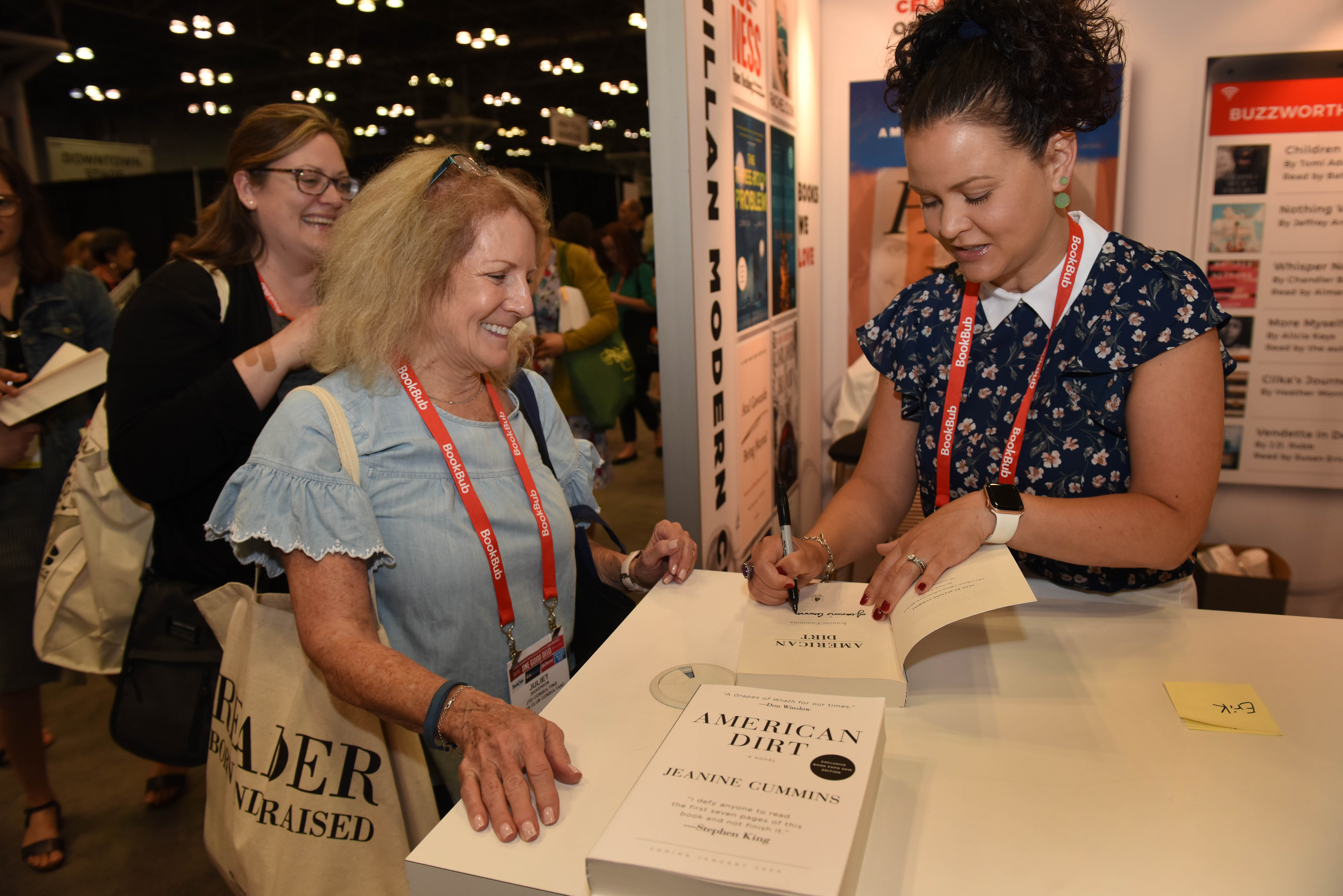 Bea Cummins bookexpo 2019: literary fiction gets the buzz