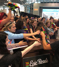BookCon 2019: YA Authors and ARCs Incite 'Game of Galleys' Among Fans